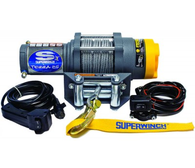 Troliu ATV electric 12v Superwinch 2.5 - 1134 kg - cablu otel